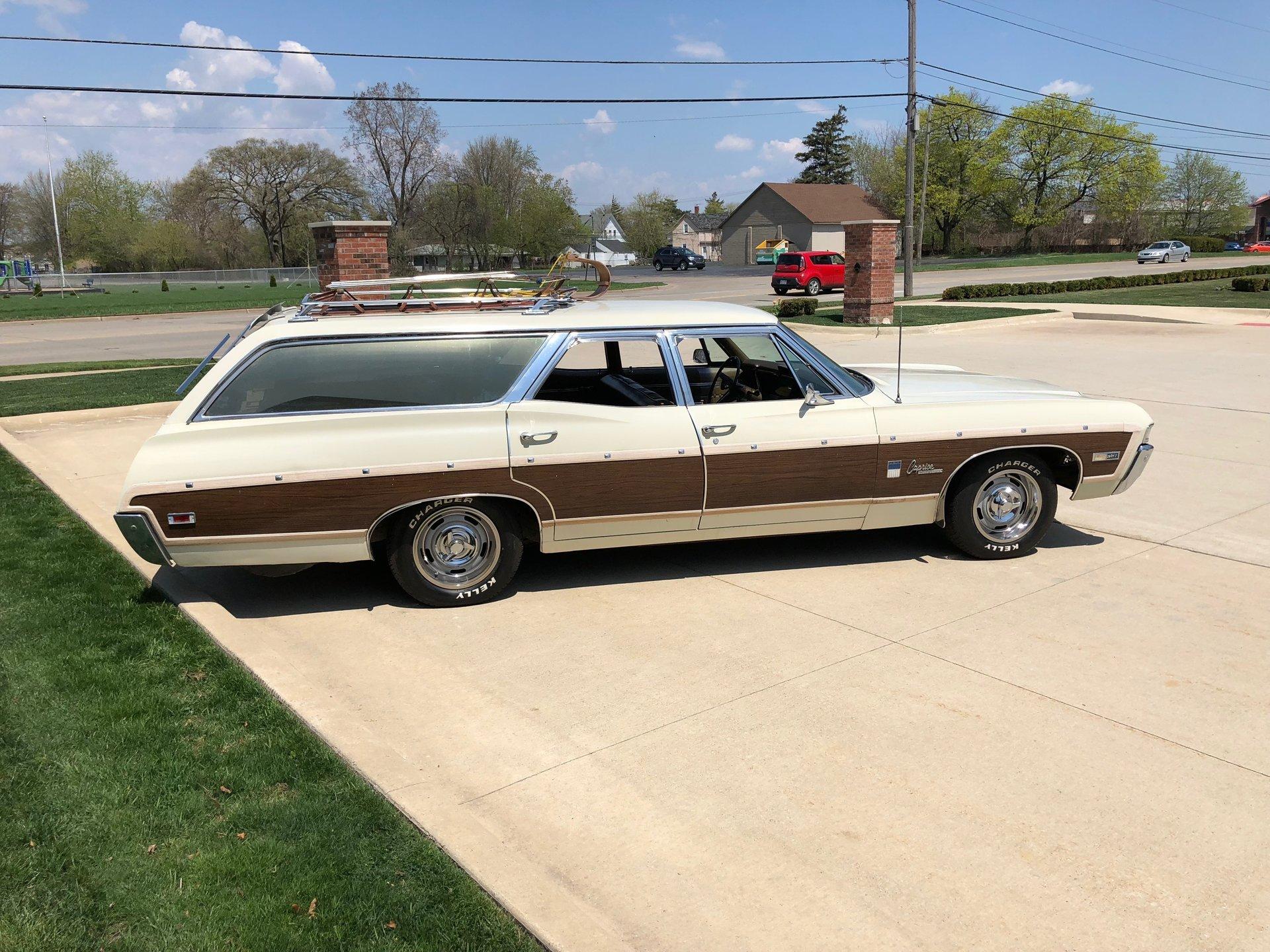 1968 Chevrolet Caprice For Sale 87903 Mcg 2 Door