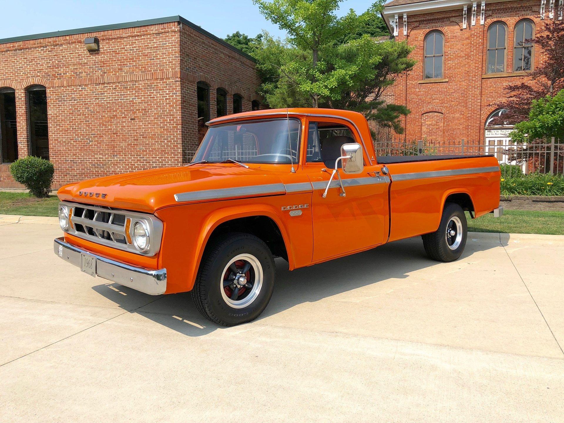 1968 Dodge 100 Showdown Auto Sales Drive Your Dream Color Chips 12438db08ebf7 Hd