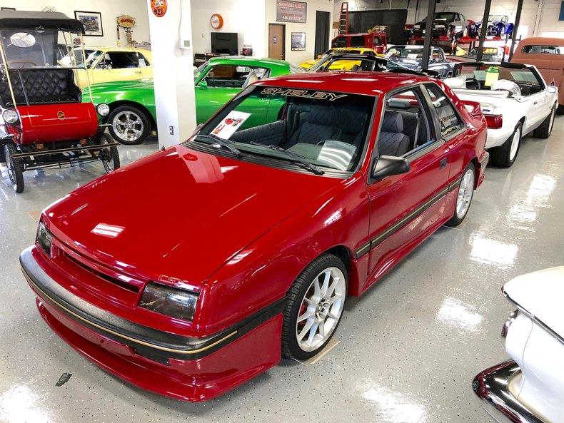 1989 Dodge Shelby csx