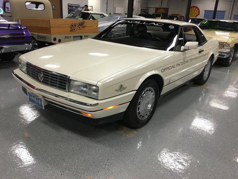 1992 Cadillac Allante pace car | Showdown Auto Sales ...