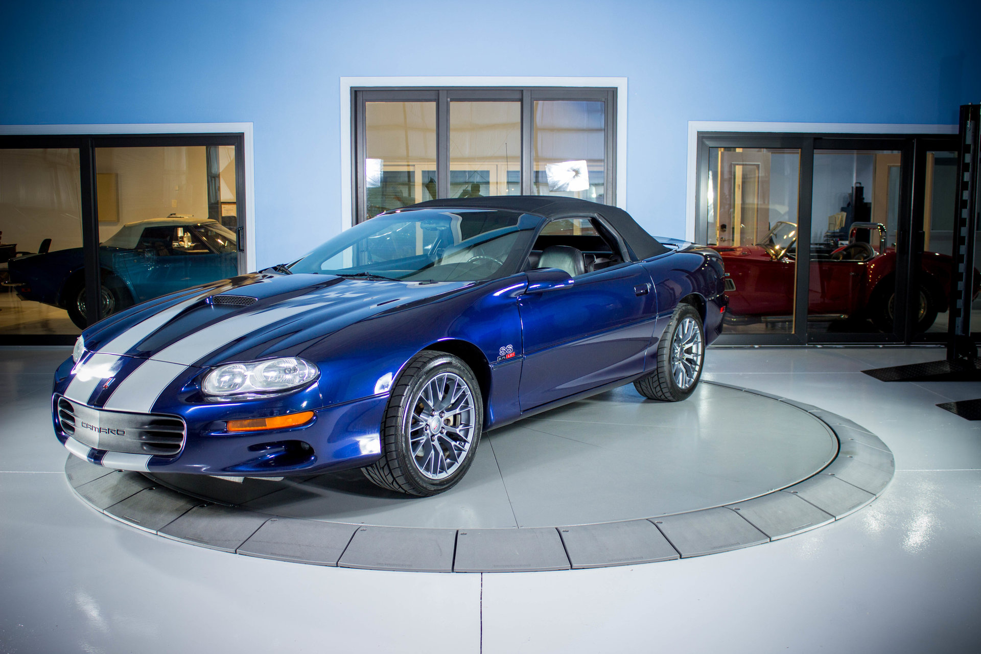 2002 chevrolet camaro ss slp 35th anniversary edition for sale 86693 mcg. Black Bedroom Furniture Sets. Home Design Ideas