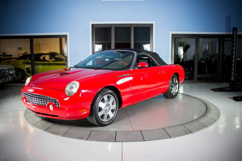 2002 ford thunderbird for sale 82861 mcg. Black Bedroom Furniture Sets. Home Design Ideas