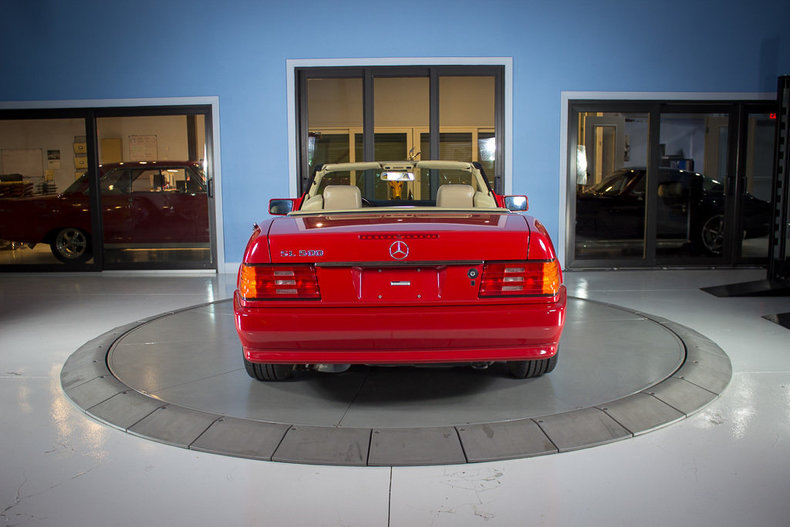 1991 Mercedes Benz 500 SEL 12