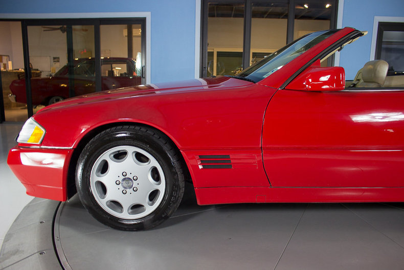 1991 Mercedes Benz 500 SEL 18