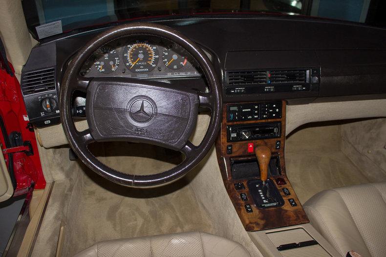 1991 Mercedes Benz 500 SEL 34