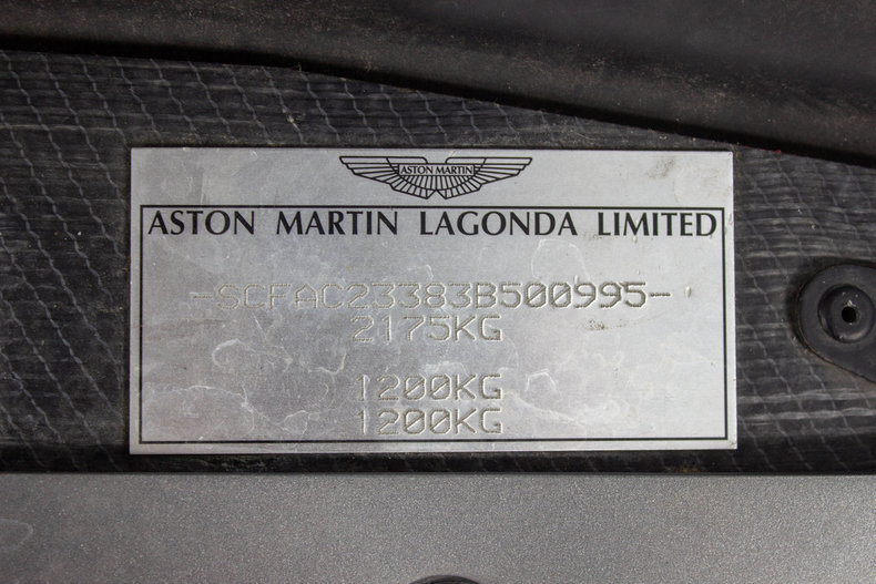 2003 Aston Martin Vanquish 20