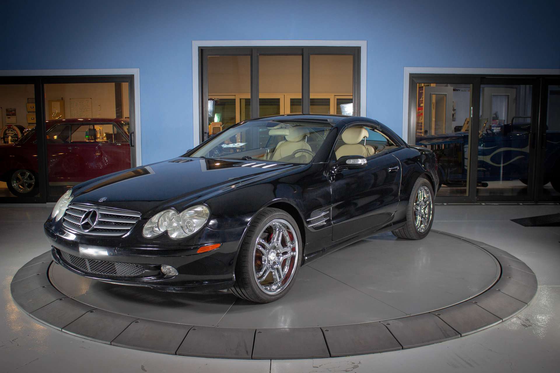 12164091d5196 hd 2004 mercedes benz sl500 amg
