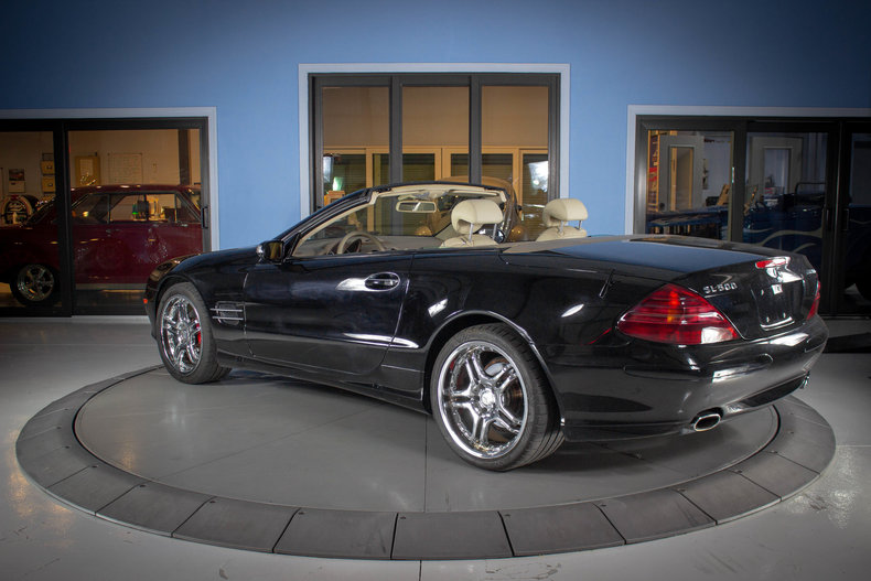 2004 Mercedes-Benz SL500 11