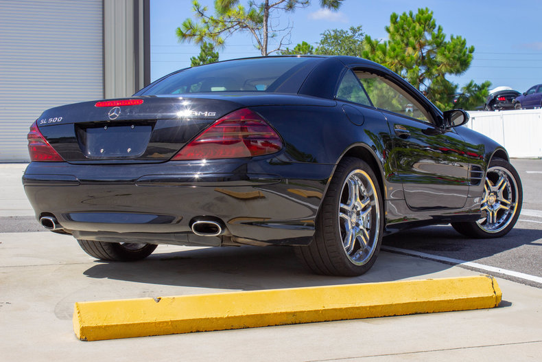 2004 Mercedes-Benz SL500 50