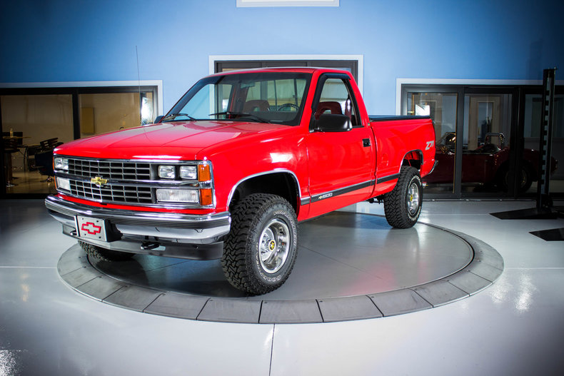 1989 Red Chevy 1500 P U 4wd Classic Cars Used Cars For Sale In