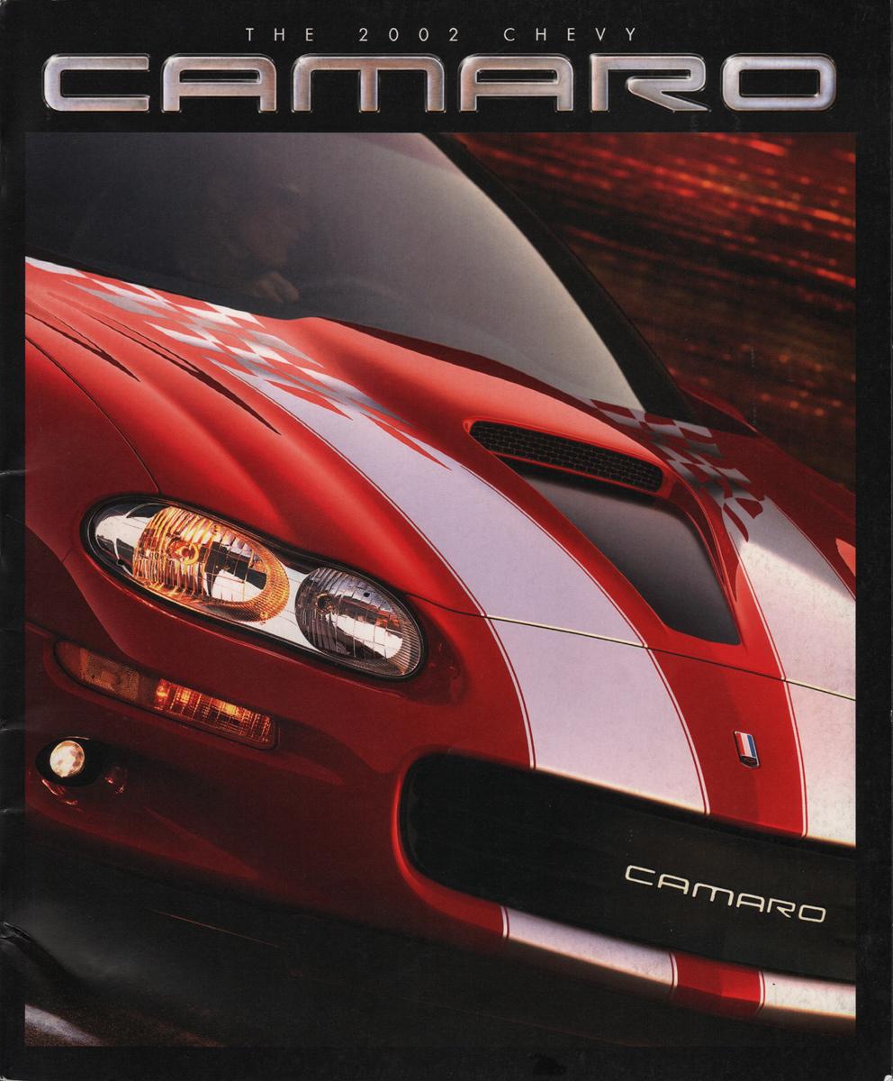 2002 Chevrolet Camaro Ss Slp 35th Anniversary Edition