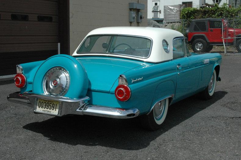 1956 Ford Thunderbird Silverstone Motorcars