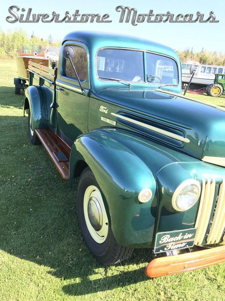 1946 ford pickup for sale 53643 mcg. Black Bedroom Furniture Sets. Home Design Ideas