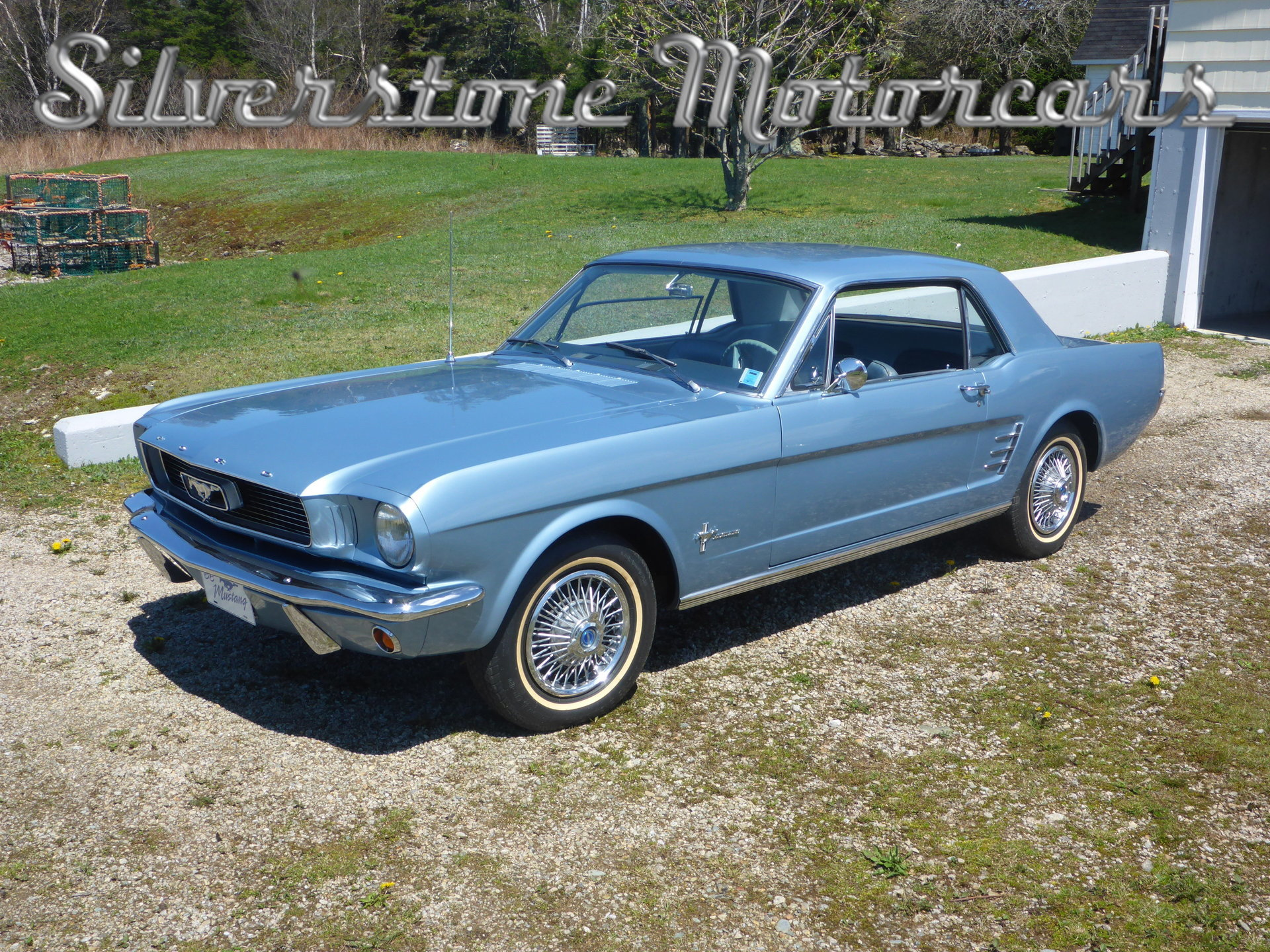 1966 ford mustang silverstone motorcars. Black Bedroom Furniture Sets. Home Design Ideas