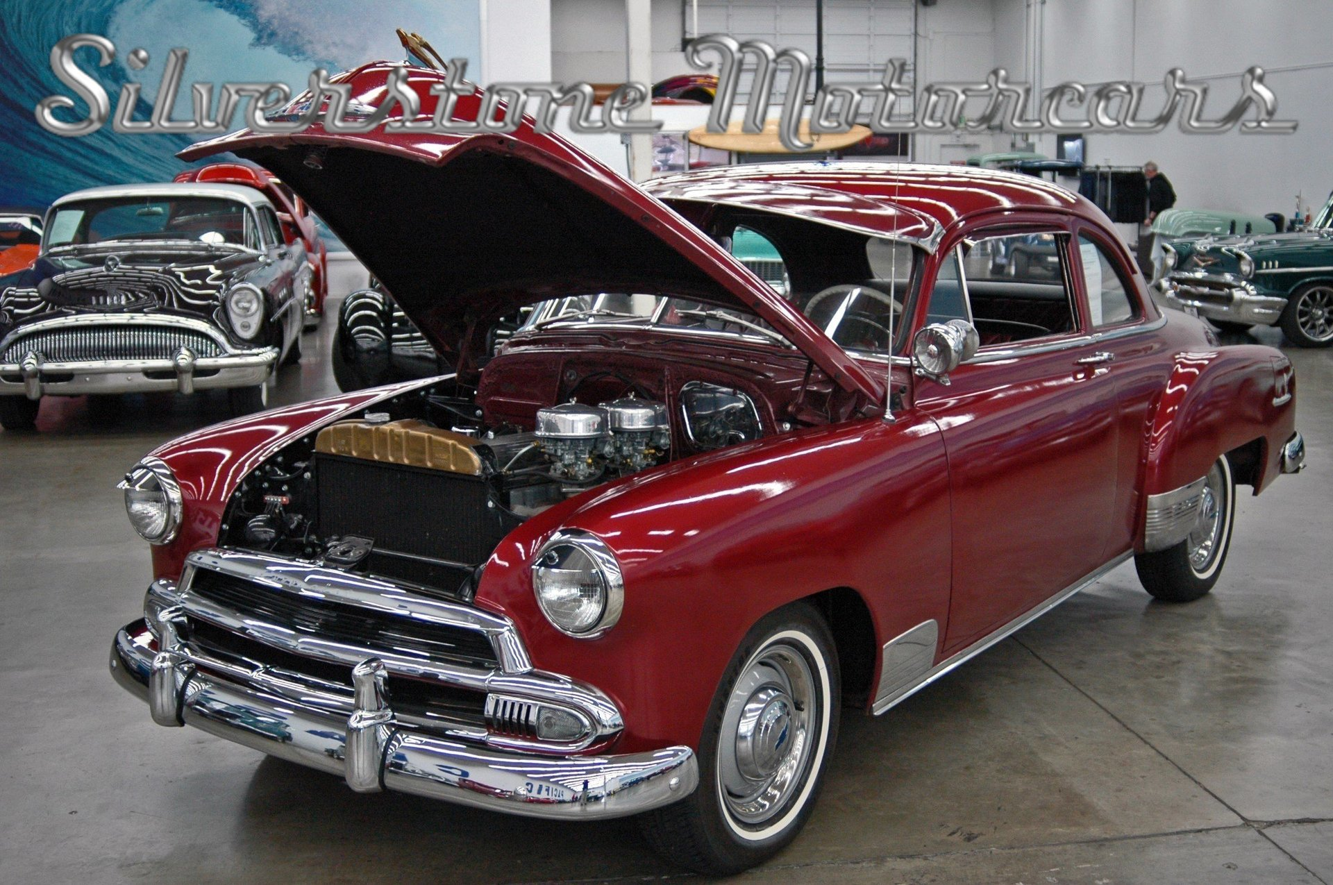 1951 Chevrolet Bel Air Silverstone Motorcars Paint Colors