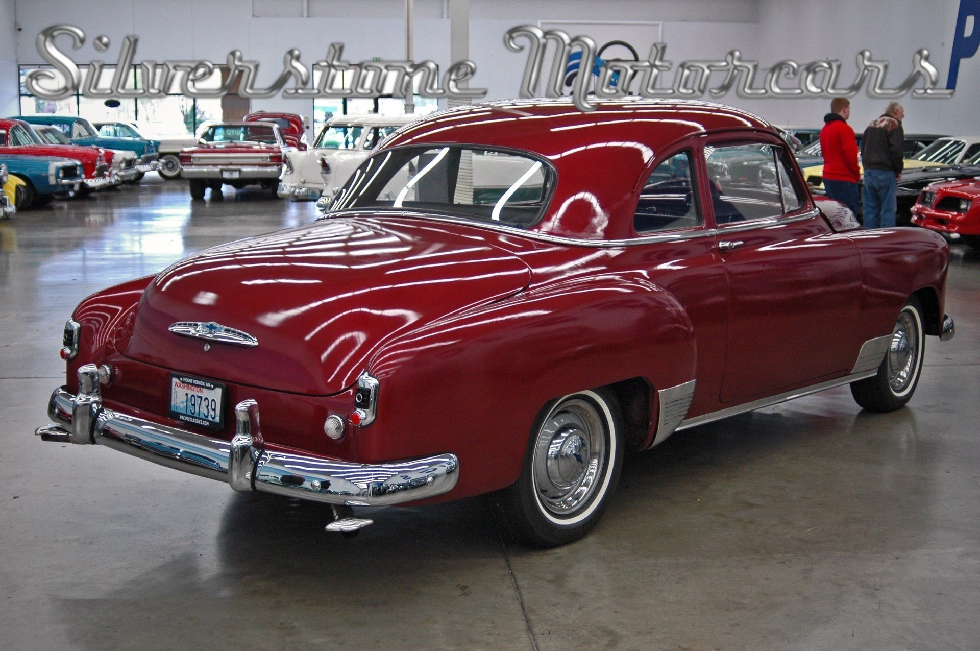 1951 Chevrolet Bel Air Silverstone Motorcars 2 Door Hardtop