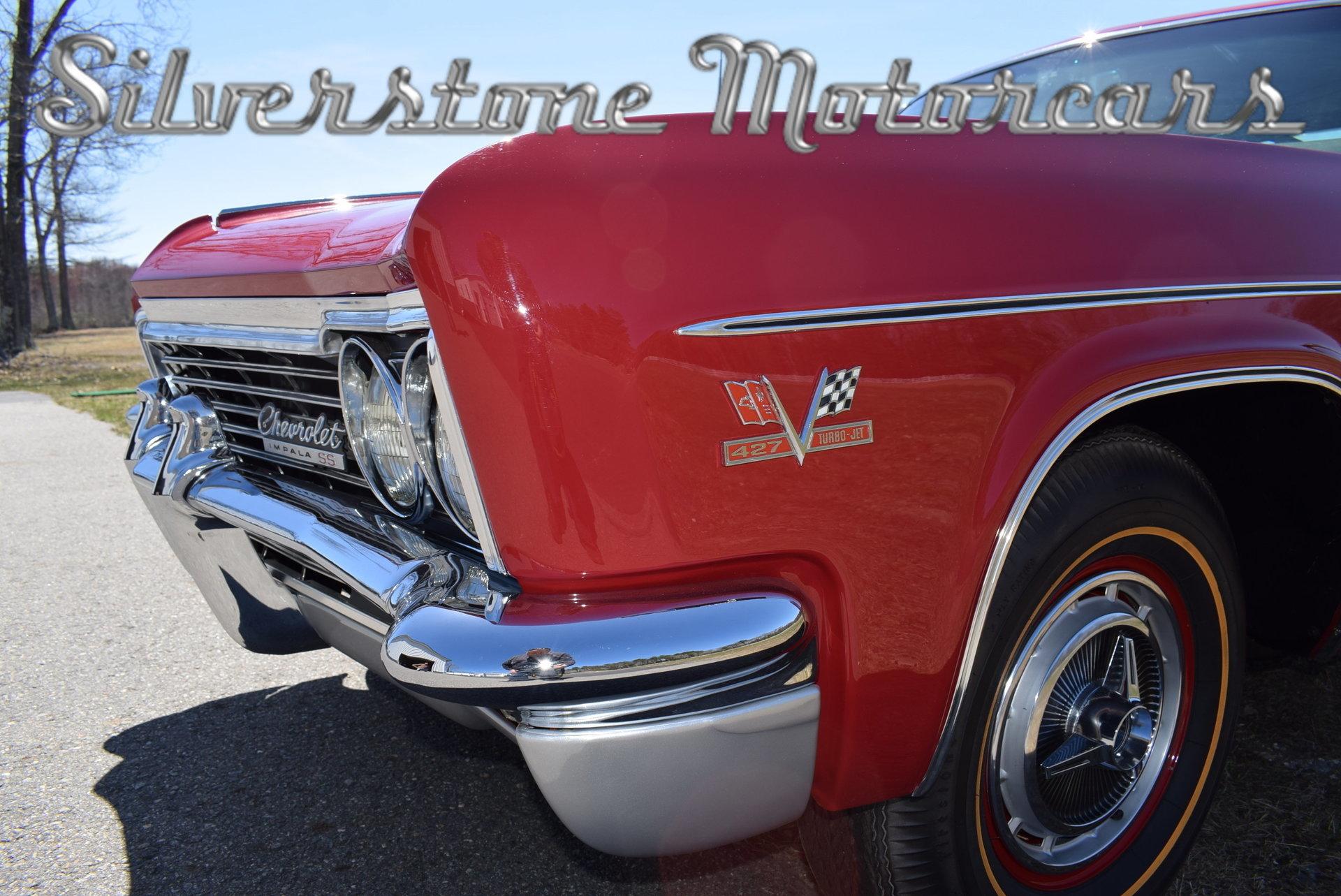 1966 Chevrolet Impala Silverstone Motorcars Chevy Ss 427