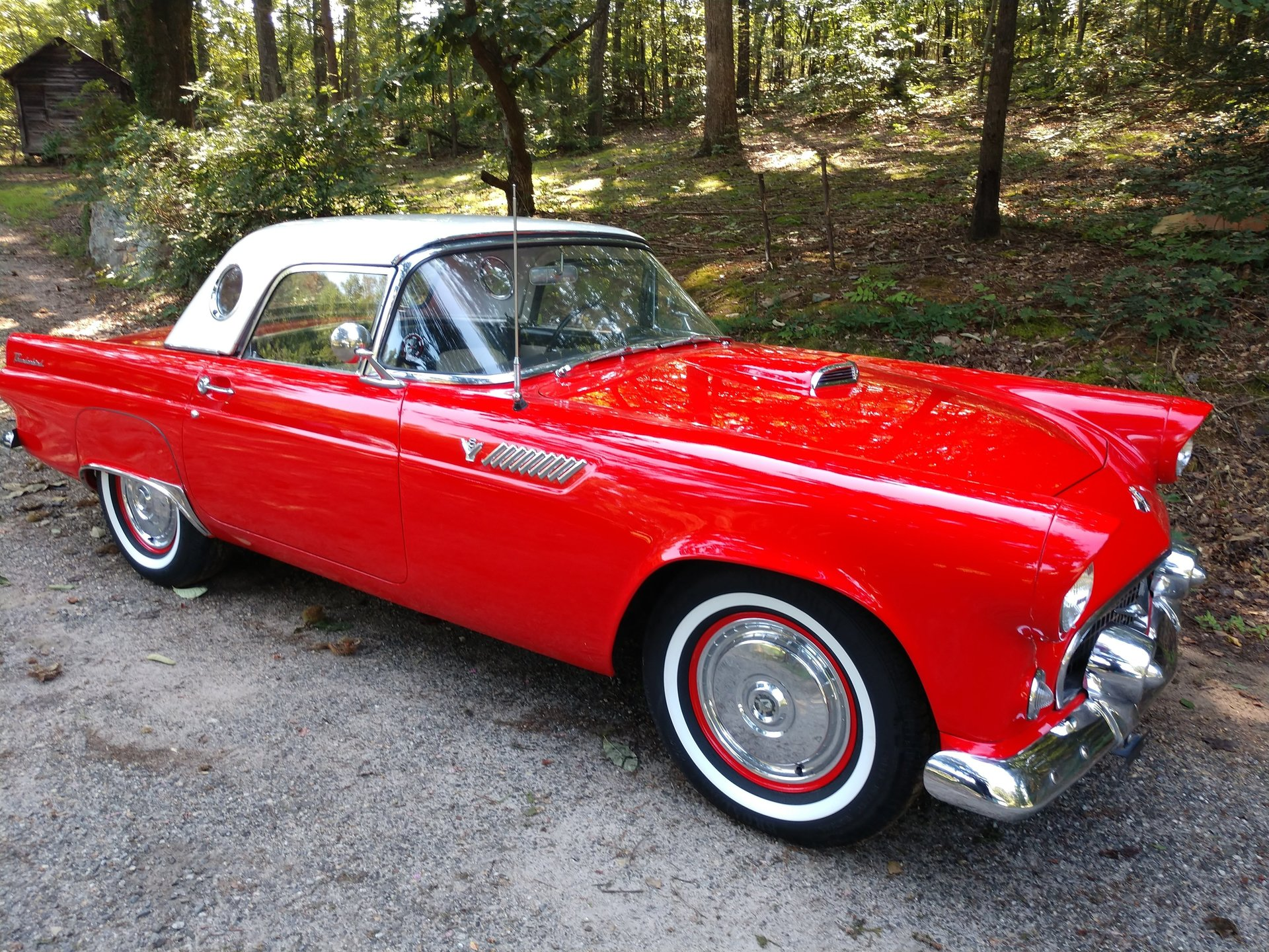 1955 ford thunderbird silverstone motorcars. Black Bedroom Furniture Sets. Home Design Ideas