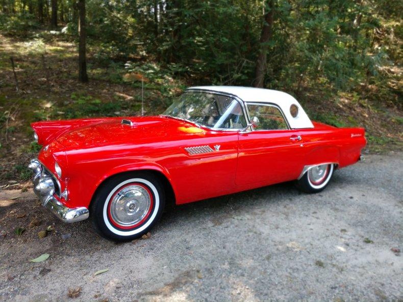 1955 ford thunderbird for sale 71236 mcg. Black Bedroom Furniture Sets. Home Design Ideas