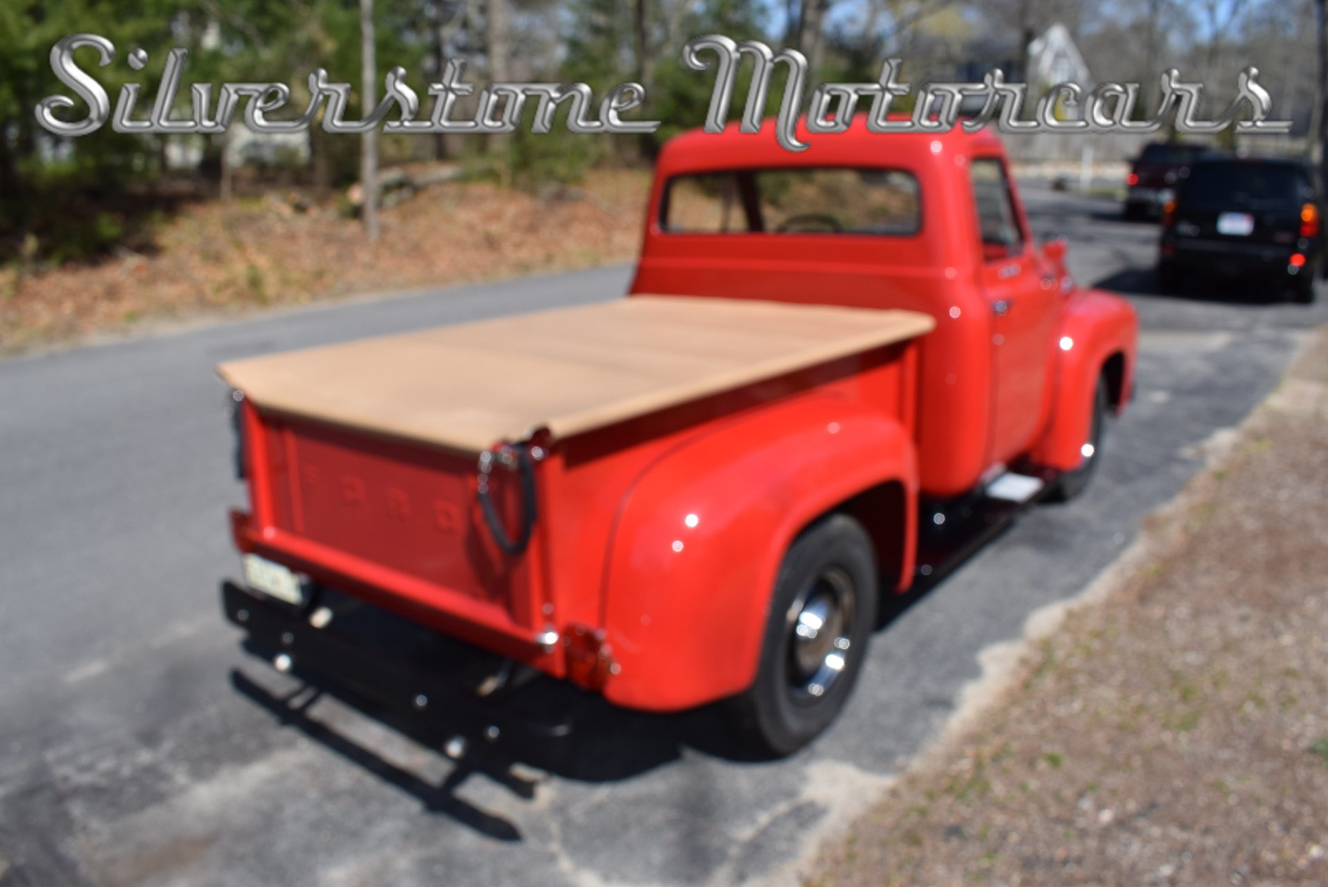 1955 Ford F100 Silverstone Motorcars Short Bed