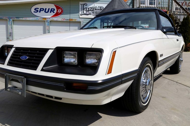 1983 ford mustang glx convertible low mileage survivor 5 0l v8 5 speed trans acclassic cars. Black Bedroom Furniture Sets. Home Design Ideas