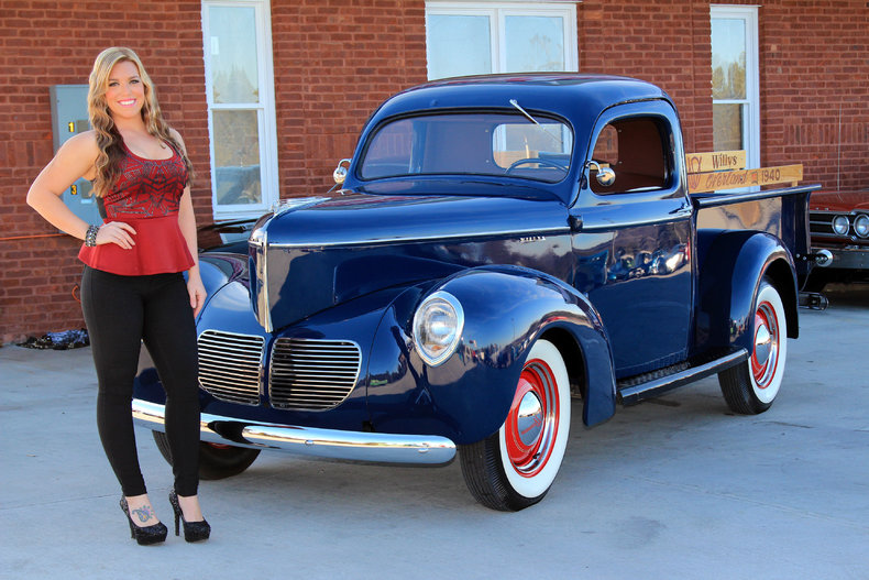 1940 Willys Overland Pickup Classic Cars Amp Muscle Cars