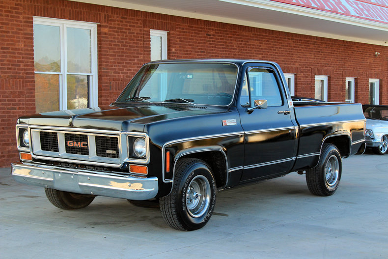 1974 gmc 1500 classic cars muscle cars for sale in knoxville tn. Black Bedroom Furniture Sets. Home Design Ideas
