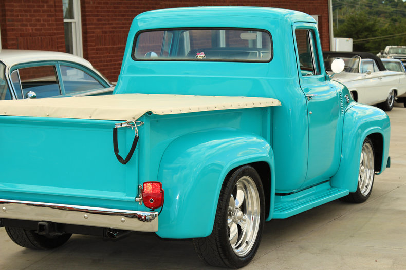 1956 ford f100 classic cars muscle cars for sale in knoxville tn. Black Bedroom Furniture Sets. Home Design Ideas