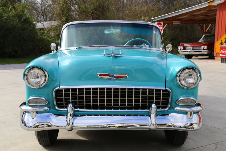 1955 chevrolet bel air 265 v8 power glide transclassic cars muscle cars for sale in knoxville tn. Black Bedroom Furniture Sets. Home Design Ideas