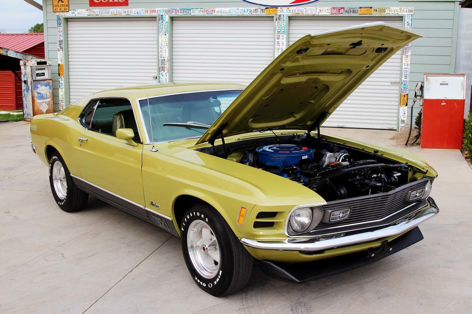 1970 ford mustang mach 1 for sale 86040 mcg. Black Bedroom Furniture Sets. Home Design Ideas