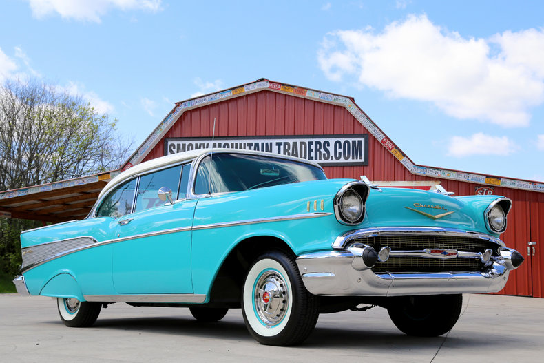 1957 chevrolet bel air classic cars muscle cars for sale in knoxville tn. Black Bedroom Furniture Sets. Home Design Ideas