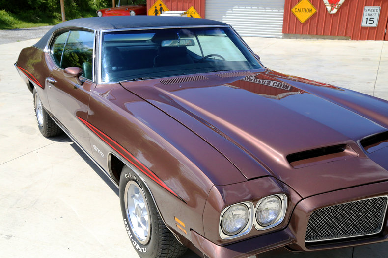 1971 Pontiac GTO  Classic Cars  Muscle Cars For Sale in Knoxville TN