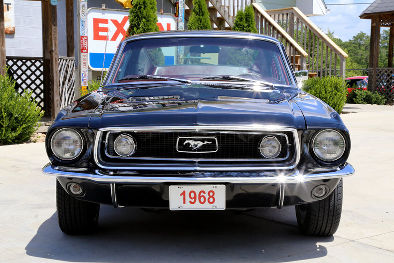 1968 ford mustang classic cars muscle cars for sale in knoxville tn. Black Bedroom Furniture Sets. Home Design Ideas