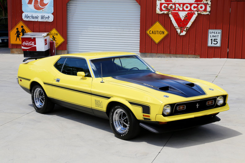 1971 ford mustang classic cars muscle cars for sale in knoxville tn. Black Bedroom Furniture Sets. Home Design Ideas