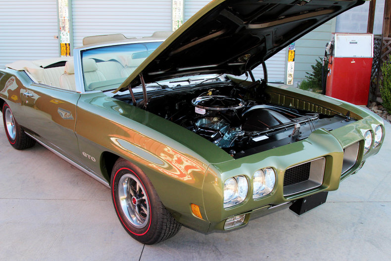 1970 Pontiac GTO : 1970 Pontiac GTO Convertible #s Matching 400 PS Power Top Automatic