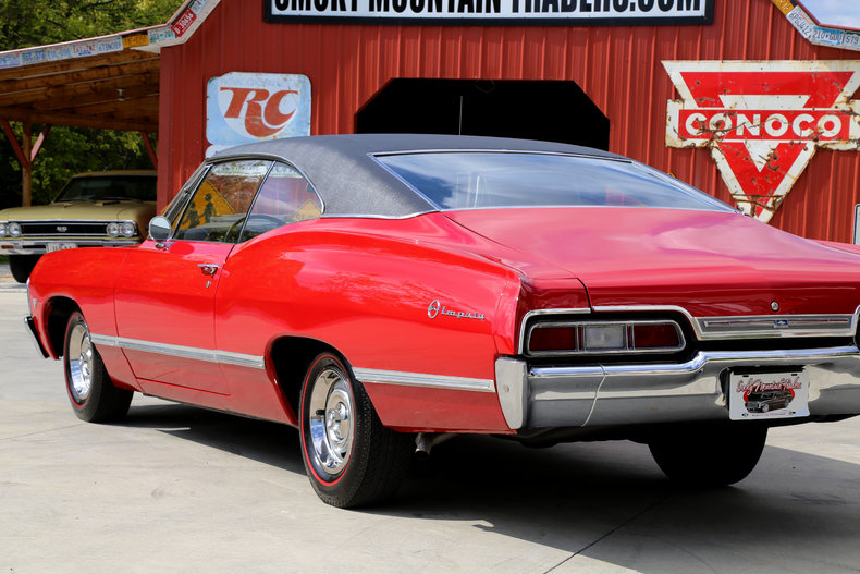 1967 chevrolet impala classic cars muscle cars for sale in knoxville tn. Black Bedroom Furniture Sets. Home Design Ideas