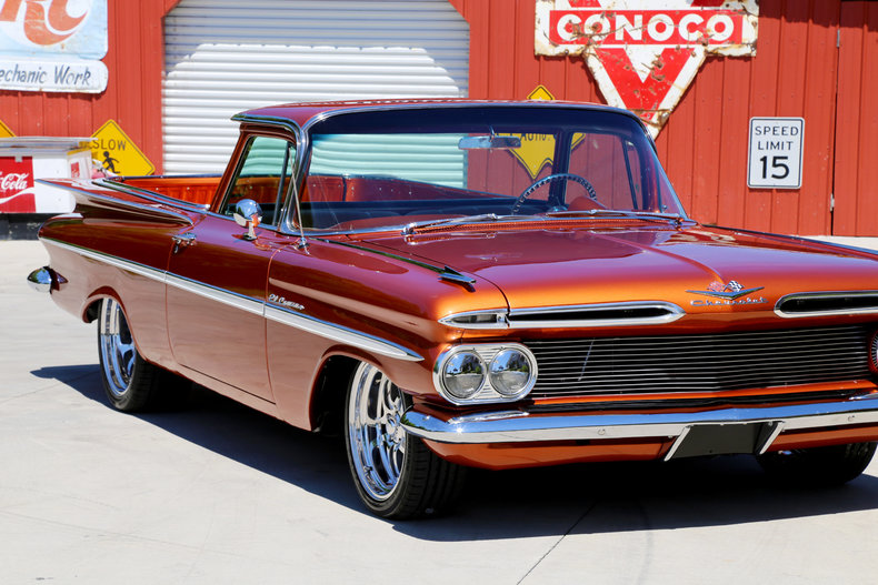 1959 chevrolet el camino classic cars muscle cars for sale in knoxville tn. Black Bedroom Furniture Sets. Home Design Ideas