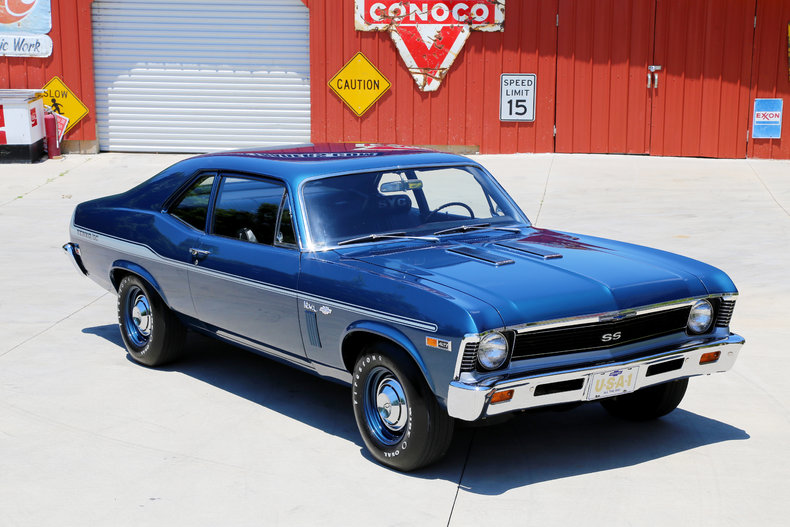 1969 chevrolet nova classic cars muscle cars for sale in knoxville tn. Black Bedroom Furniture Sets. Home Design Ideas