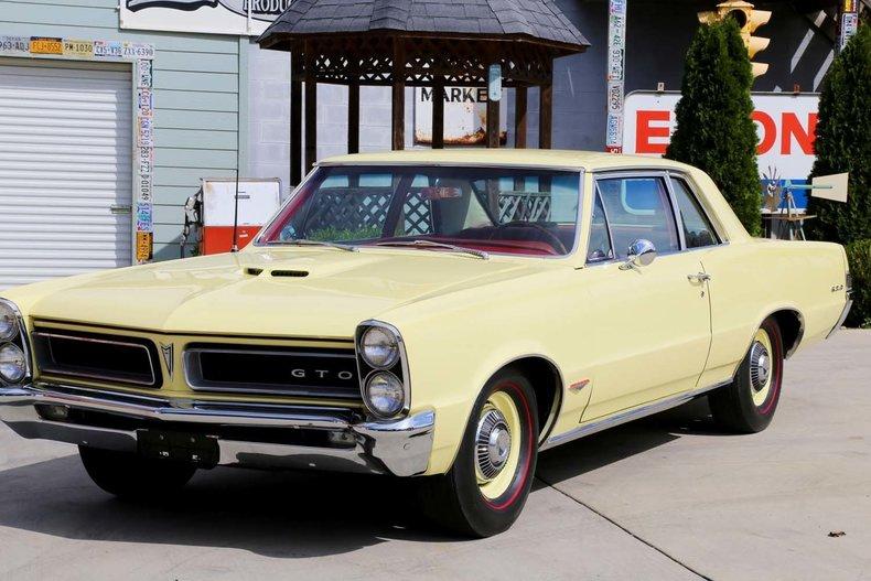 1965 Pontiac GTO - Smokey Mountain Traders