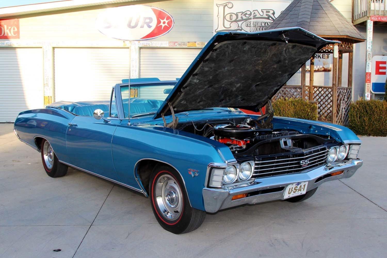 1967 chevrolet impala ss 427 for sale 79593 mcg. Black Bedroom Furniture Sets. Home Design Ideas