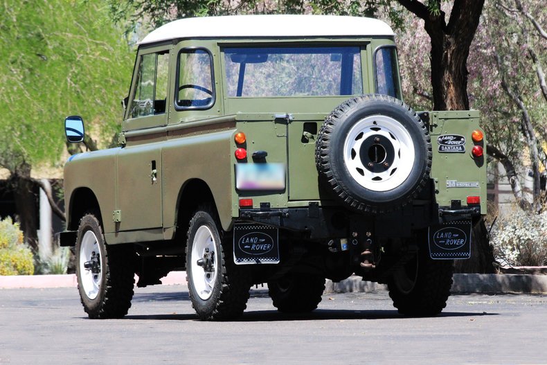 Land Rover Scottsdale >> 1975 Land Rover Santana 88 Pickup   Classic & Collectible ...