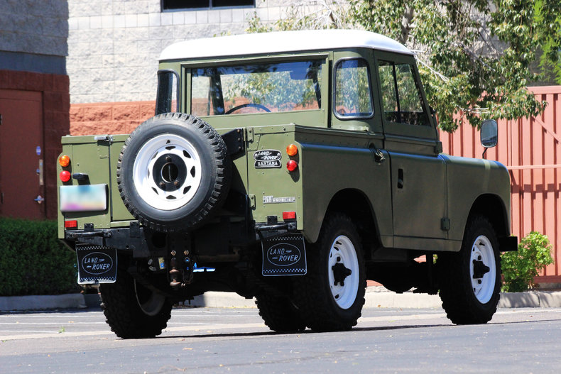 Land Rover Scottsdale >> 1975 Land Rover Santana 88 Pickup | Classic & Collectible vehicle storage, maintenance ...
