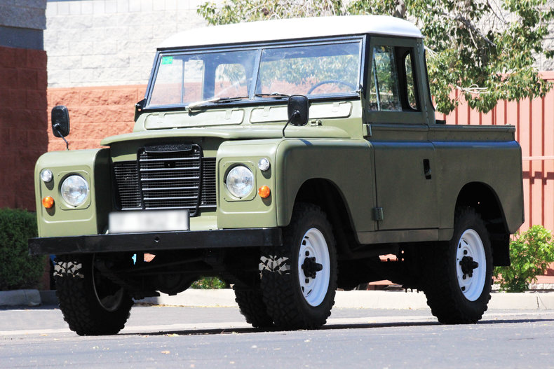 1975 Land Rover Santana 88 Pickup Classic Amp Collectible