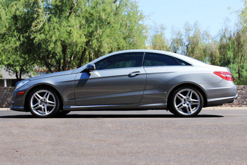 2011 Mercedes Benz E550 Coupe
