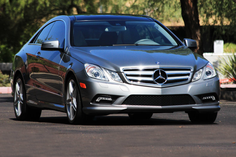 ... 2011 Mercedes Benz E550 Coupe ...