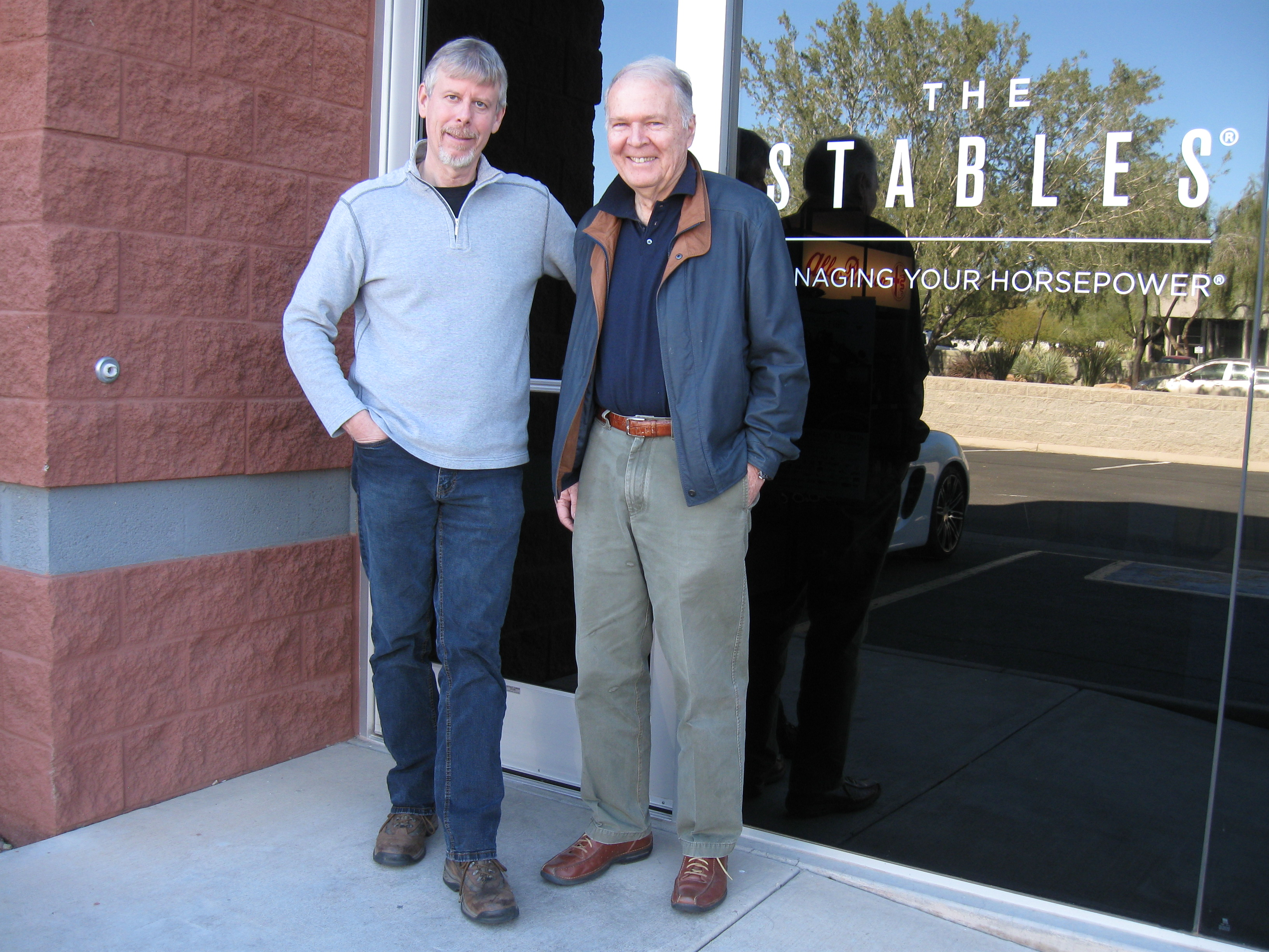Automotive Legend Pete Brock makes a stop at The Stables