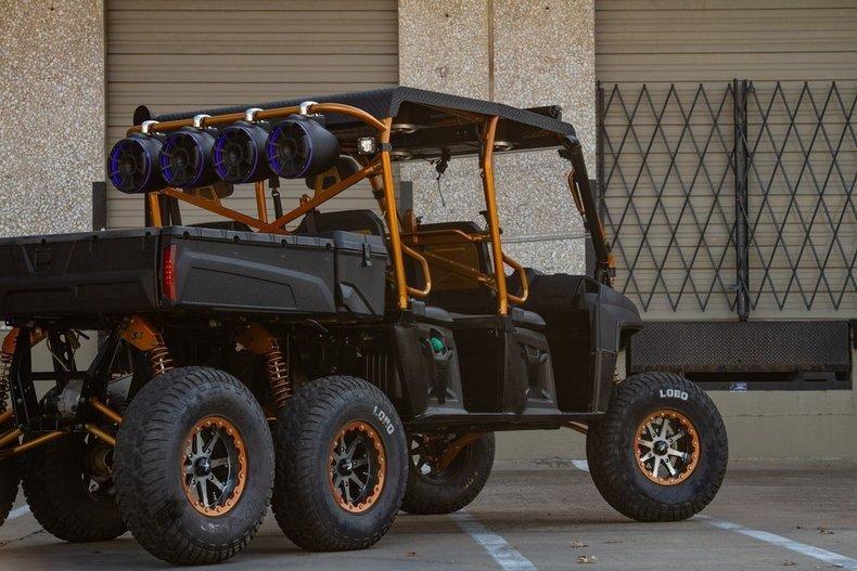 For Sale 2014 Polaris 6 Wheeler