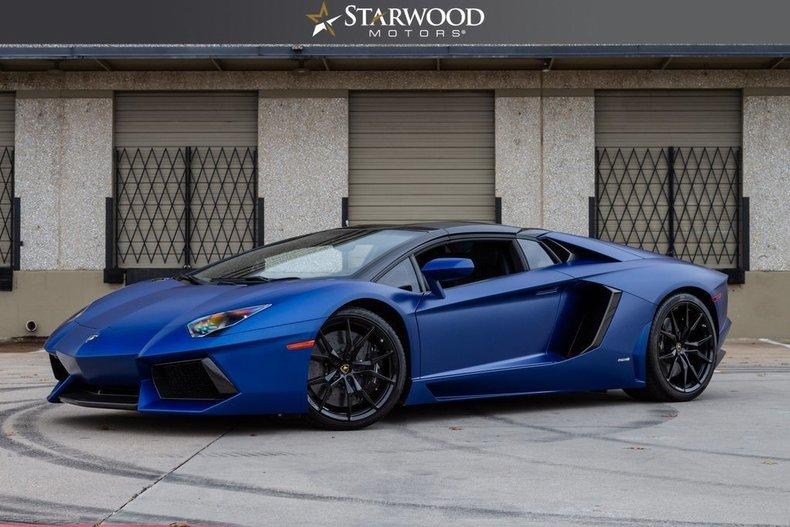 For Sale 2015 Lamborghini Aventador