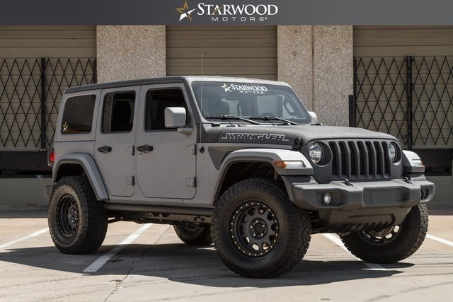 For Sale 2018 Jeep Wrangler JL