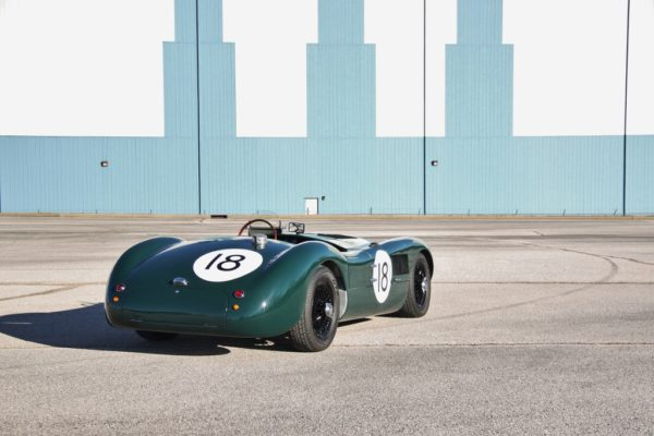 Our Gorgeous 1953 C-Type Replica Featured In ReinCarNation